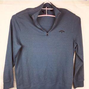 Callaway Men's 1/4 Zipper Golf Pullover  XL